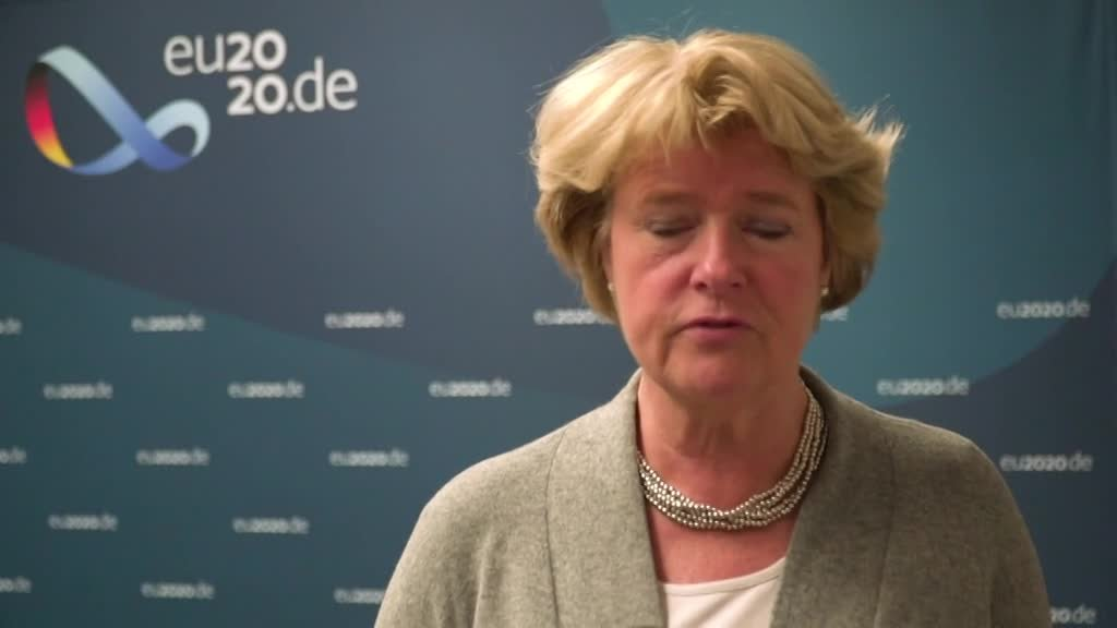 Minister of State Monika Grütters, Germany's Federal Government Commissioner for Culture and the Media