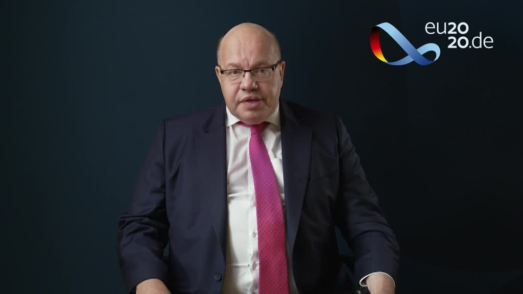 Greeting from German Minister for Economic Affairs and Energy Peter Altmaier before the Informal Videoconference of Telecommu