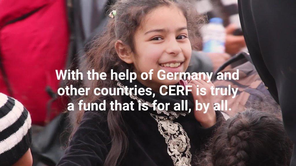 German contribution through CERF