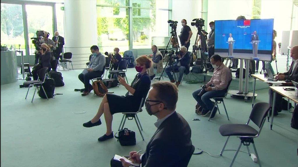 Nach EU-China-Videokonferenz: Kanzlerin Merkel zum Klimaschutz