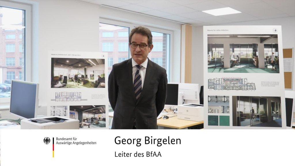 Videobotschaft des Leiters Dr. Georg Birgelen