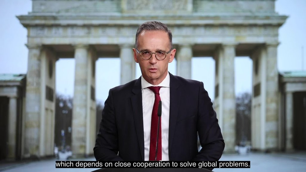 Video message from Heiko Maas, Federal Minister for Foreign Affairs, to mark the Day of German Unity on 3 October 2021