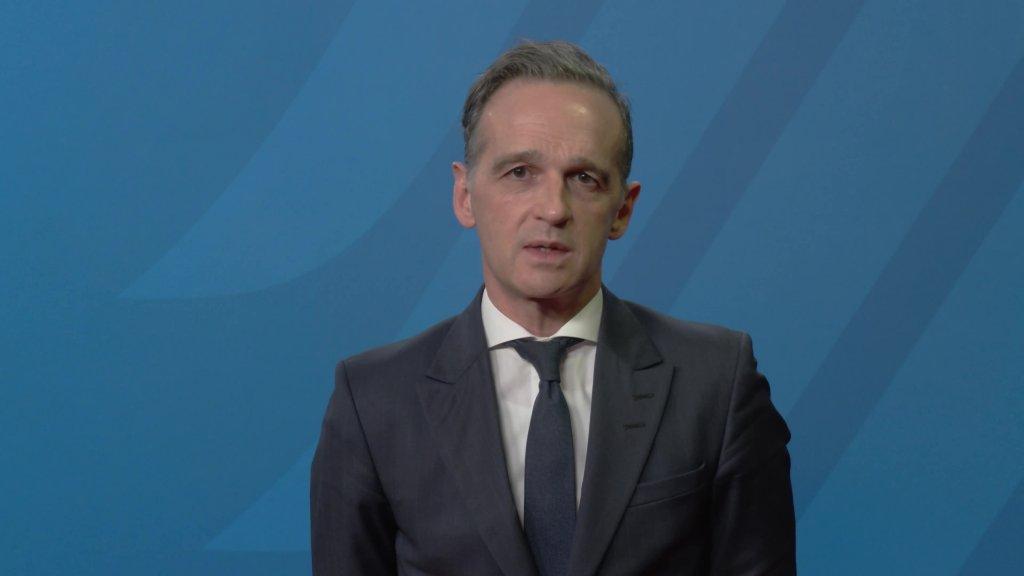 """Grußwort von Außenminister Heiko Maas anlässlich der Eröffnung des deutsch-russischen Themenjahres """"Wirtschaft und nachhaltig"""