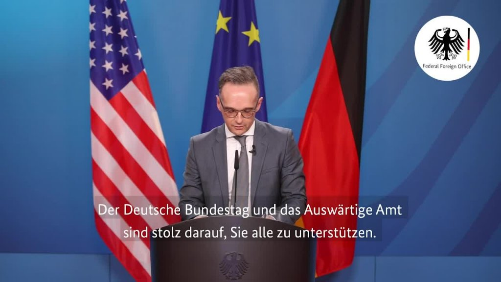 Speech by Foreign Minister Heiko Maas on the Occasion of the Inauguration of the Fritz Stern Chair at the Brookings Instituti