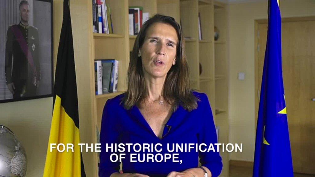 Videobeitrag der Vizepremierministerin und Außenministerin des Königreichs Belgien, Sophie Wilmès