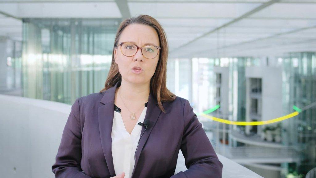 """Grußwort von Staatsministerin Müntefering anlässlich der Eröffnung der Digitalen Konferenz """"Zukunft braucht Erinnerung"""""""