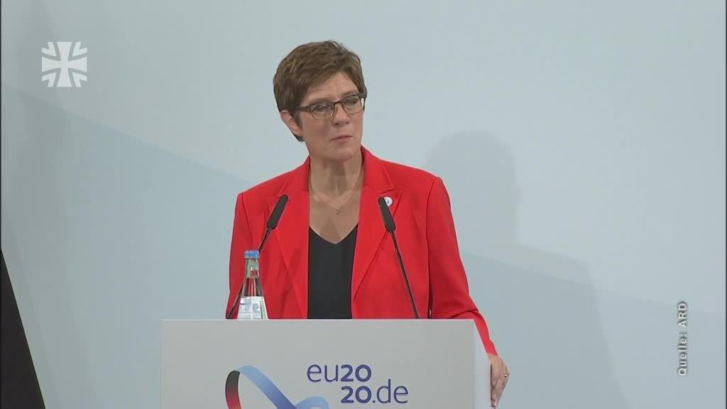 EU-Verteidigungsminister in Berlin