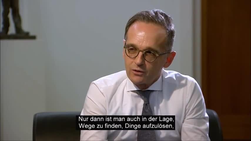 Zu Besuch bei Bundesaußenminister Maas