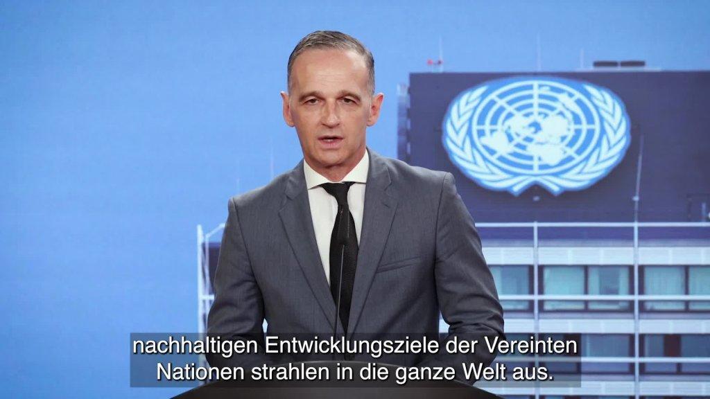 Grußwort von Außenminister Heiko Maas zum 25-jährigen Bestehen des UN-Campus Bonn