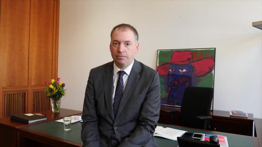 Willkommen, Staatsminister Niels Annen!