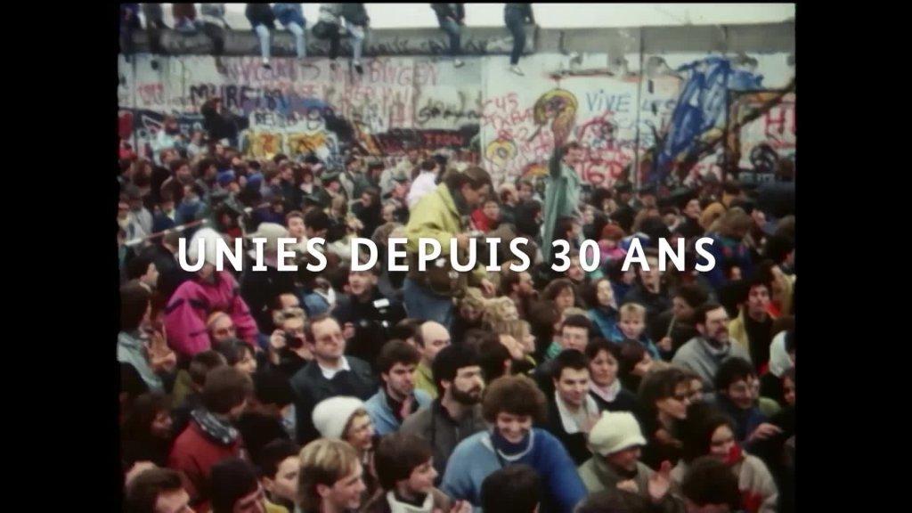 30 ans d'unité allemande en quelques images