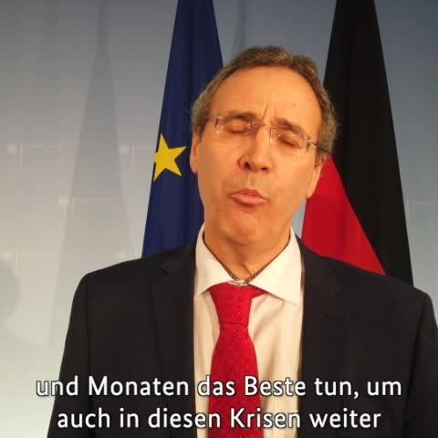 Video zum Amtsantritt von Staatssekretär Miguel Berger