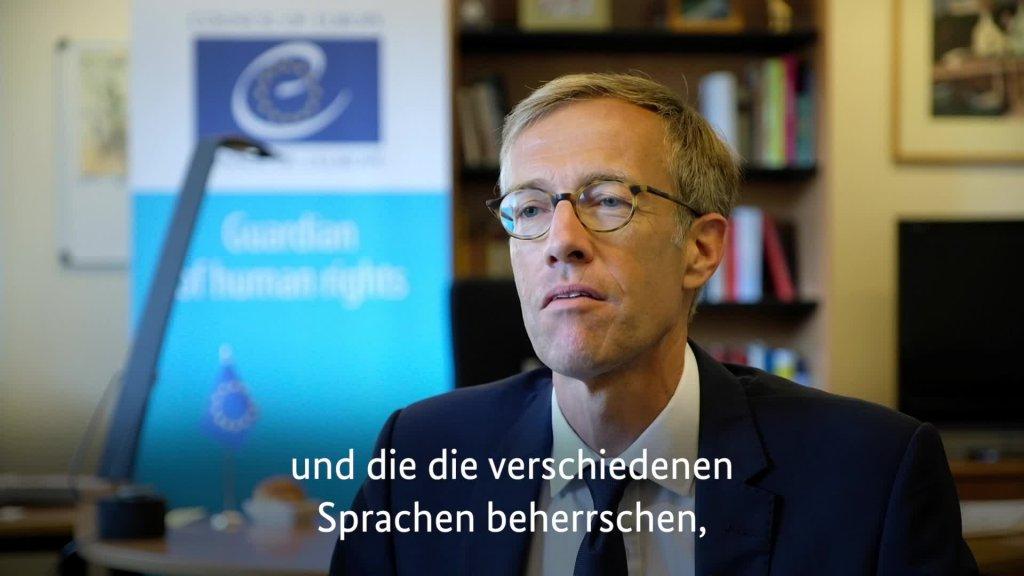 Pressesprecher der Generalsekretärin Daniel Höltgen