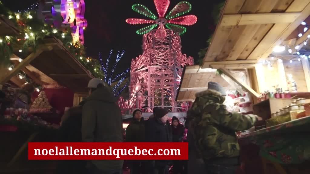 German Christmas Market in Quebec City