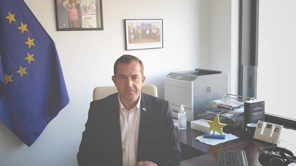 O 30. godišnjici ponovnog ujedinjenja Njemačke govori voditelj Predstavništva Europske komisije u Hrvatskoj Ognian Zlatev