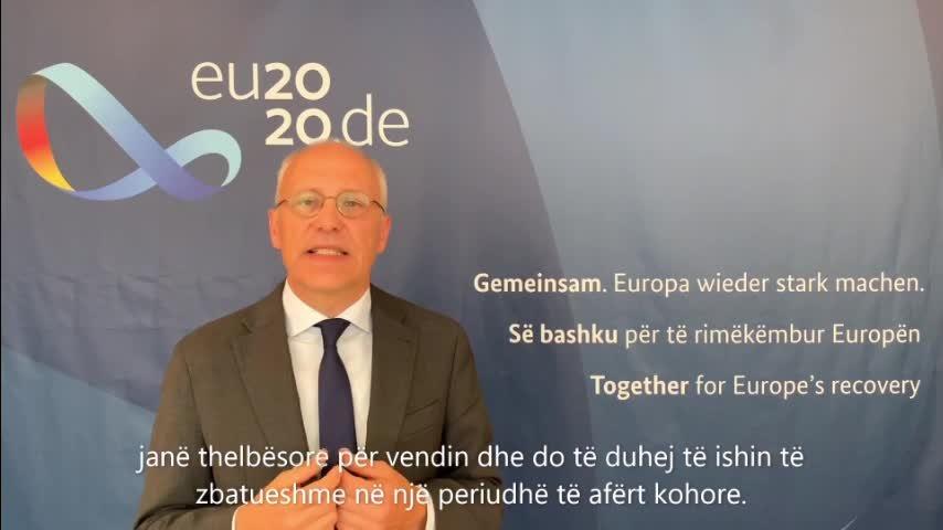 Kryesia e Këshillit të BE-së: Videomesazh i Ambasadorit Peter Zingraf