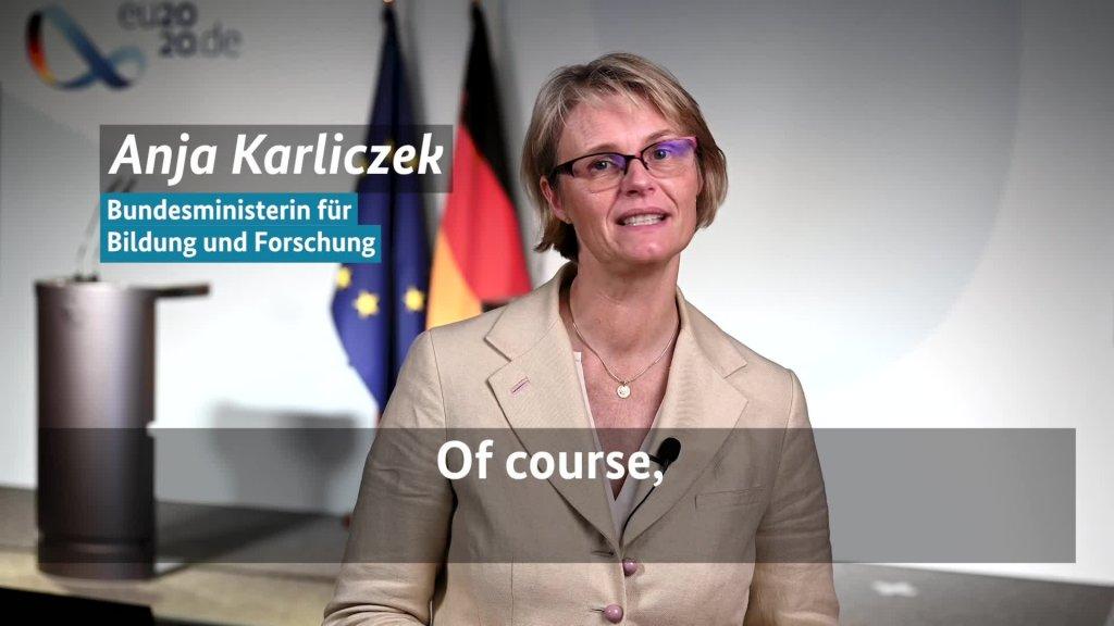 Minister Karliczek
