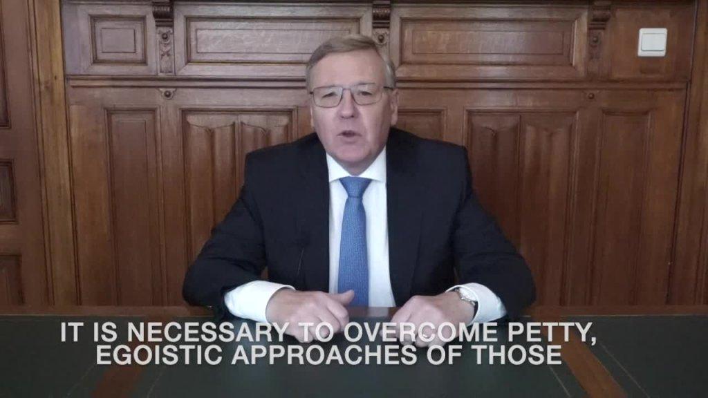 Videobeitrag des Botschafters der Russischen Föderation, S.E. Alexander Tokovinin