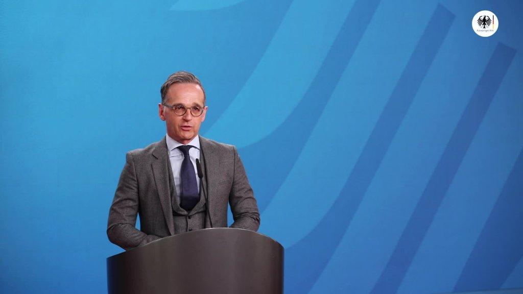 Videogrußwort von Außenminister Heiko Maas anlässlich der Eröffnung des Hilde-Domin-Programms