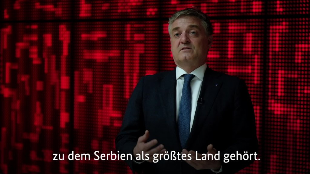 Leiter des Belgrader Büros des Europarats Tobias Flessenkemper