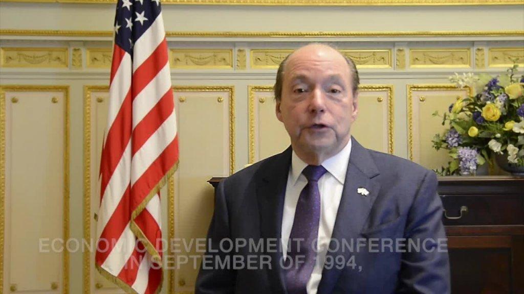 Videobeitrag des Botschafters der Vereinigten Staaten von Amerika, S.E. Ronald J. Gidwitz
