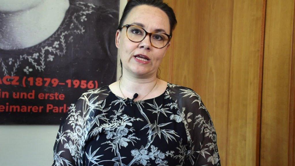 Videogrußbotschaft von Staatsministerin Michelle Müntefering zur Eröffnung des IV. Jugendforums der Deutsch-Russischen Städte